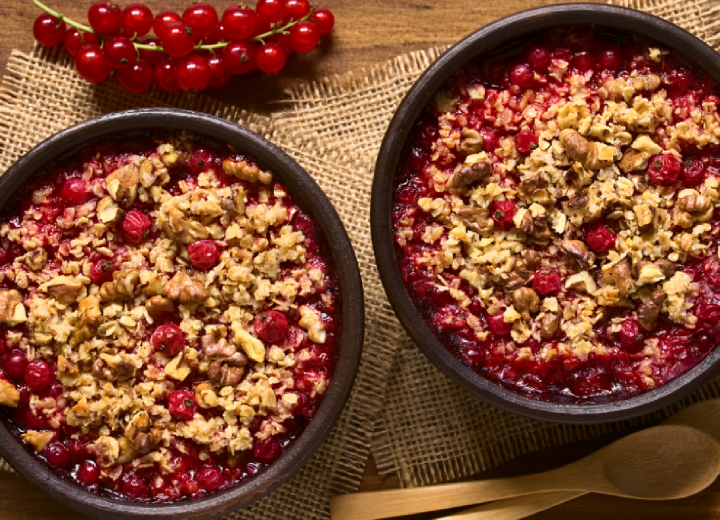 Recipe - Berry Crumble