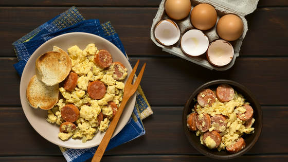 Recipe - Chorizo Eggs