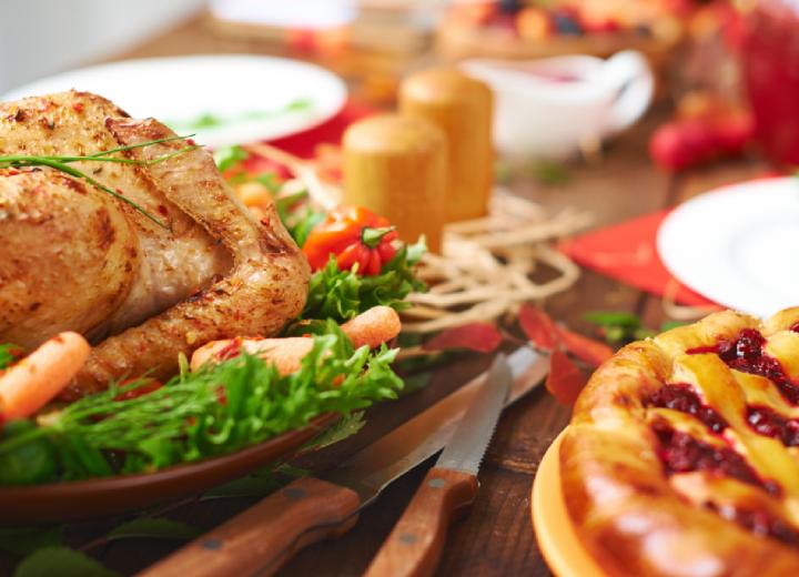 Blog Title - Christmas Food